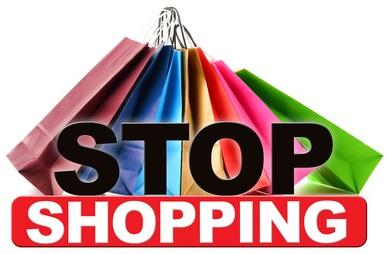 Stop shopping, shopping ban