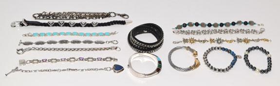 bracelets worn - 2015