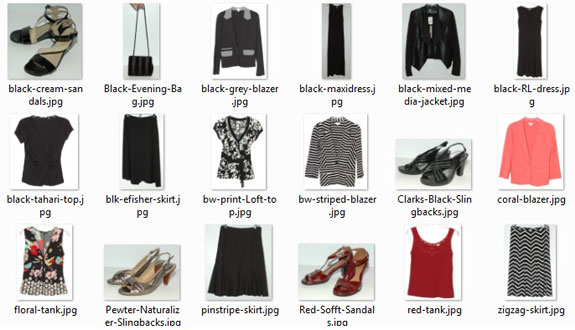 Dressy Capsule #1 - Dresses and Skirts
