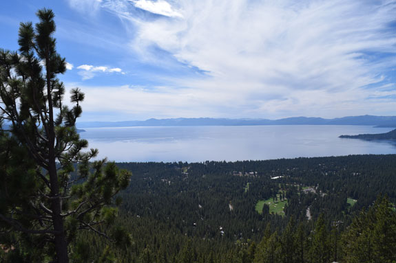 Lake Tahoe from Incline Village Lookout