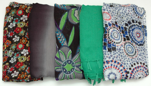 May 2015 Working Closet - Scarves